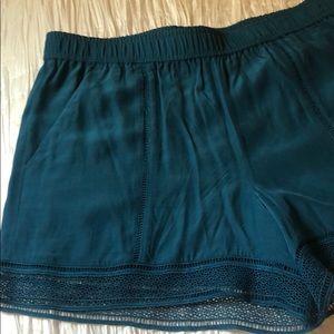 Loft Teal Shorts